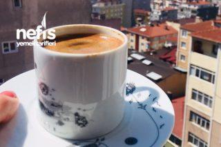 Şekersiz Kahve İçemeyenler İçin Aromalı Kahve Tarifi