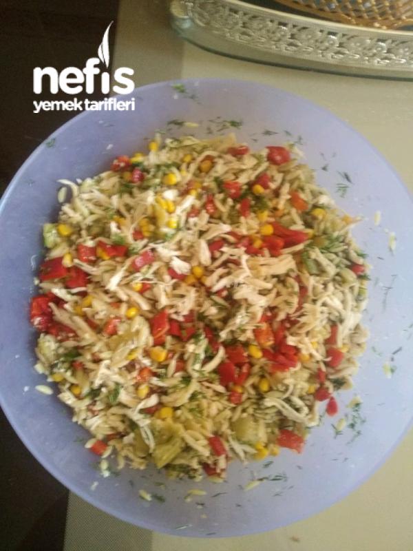 Tavuklu Köz Patlıcanlı Salata