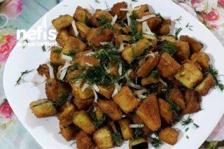 Galeta Unlu Patlıcan Kızartması (Patlıcan Cipsi) Tarifi