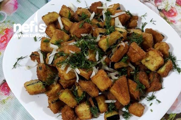 Galeta Unlu Patlıcan Kızartması (Patlıcan Cipsi)
