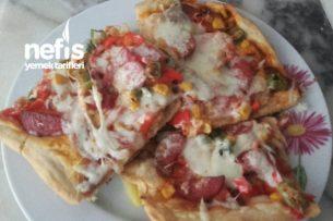 Hazırını Aratmayacak Nefis Pizza Tarifi
