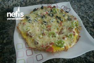 Patates Pizzası (Kahvaltılık) Tarifi