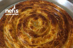 Peynirli Dolama Börek (El Açması) Tarifi