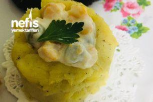 Patates Çanağında Rus Salatası (Pratik) Tarifi