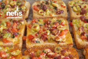 Sütlü Dilim Pizza Tarifi