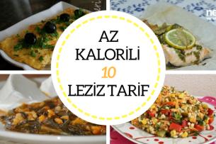 Az Kalorili Yemekler Düşük Kalorili 10 Leziz Tarif Tarifi