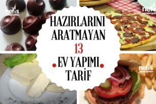 Hazır Gıdalara Alternatif Evde Hazırlayabileceğiniz 13 Tarif Tarifi