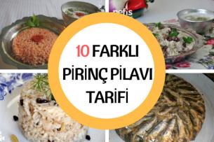 Pirinç Pilavı Çeşitleri Tamamı Denenmiş 10 Farklı Tarif Tarifi
