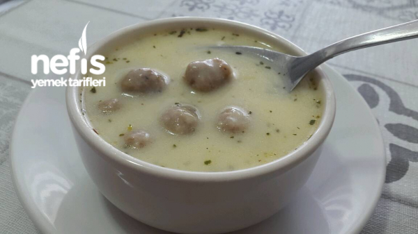 Terbiyeli Köfte Çorbası (Muhteşem)