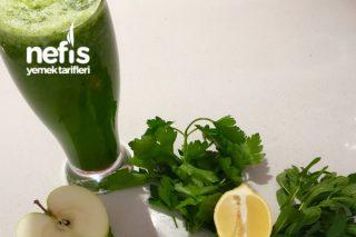 Yeşil Detoks (Göbek Eriten Kür) Tarifi