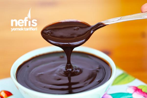 Ev Yapımı Çikolata Sos (videolu)