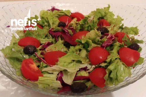 Karışık Mevsim Salata Videosu