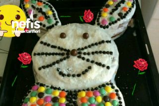 Çocuklarımızı Sevindirecek Tavşanlı Pasta Şık Görünüm Tarifi
