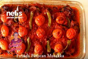Fırında Patlıcan Musakka (videolu) Tarifi