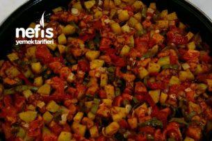 Fırında Sebzeli Tavuk Tava Tarifi