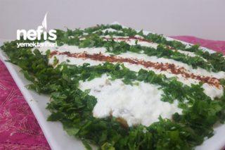 Kabak Kavurma Salatası Tarifi