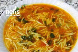 Karışık Sebzeli Şehriye Çorbası Tarifi