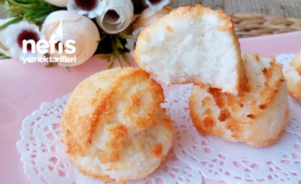 Pastane Tadında Coco Kurabiye ( 3 Malzemeli )