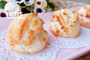 Pastane Tadında Coco Kurabiye ( 3 Malzemeli ) Tarifi