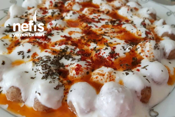 Sarımsaklı Yoğurtlu Bulgur Köftesi -2-