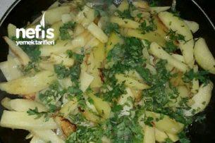 Soğanlı Maydanozlu Patates Kızartması Tarifi