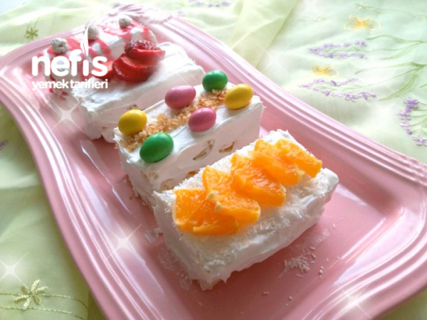 Hızlı Prenses (Tost Ekmeği Pastası , Pişmeyen)