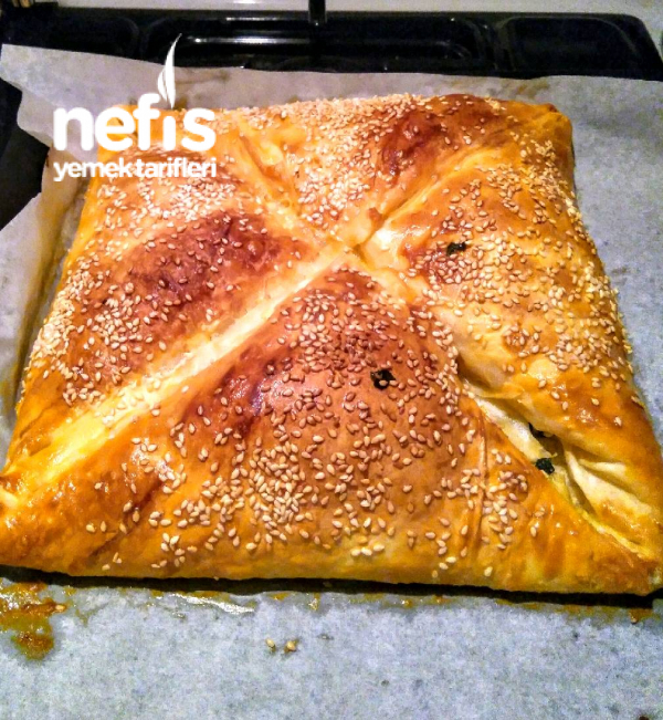 Kıymalı Patatesli Zarf Böreği
