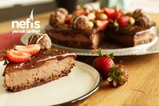 Çikolatalı Cheesecake Tarifi (Fırında Pişmeyen Garanti Tarif)