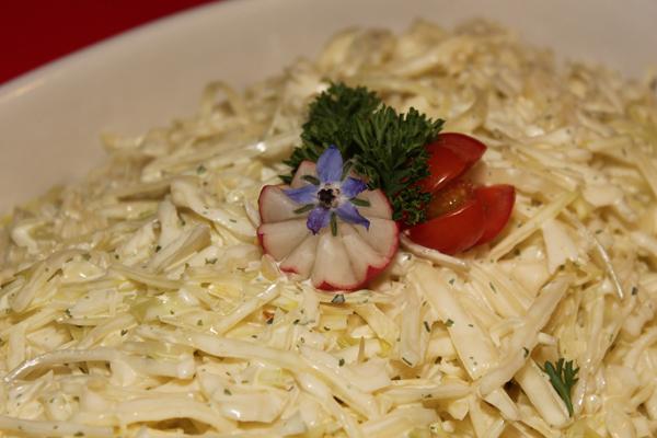 beyaz lahana salatası tarifleri
