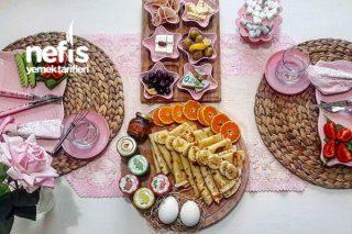 Kahvaltılık Krep (Tam Ölçü,8 Adet) Tarifi