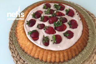 Tart Kalıbında Müthiş Yaş Pasta Tarifi