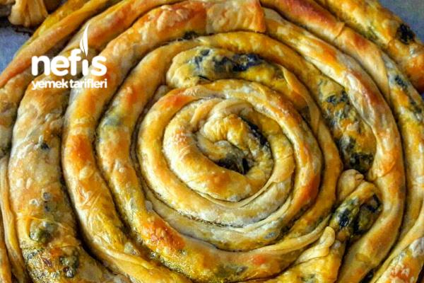 Çıtır Çıtır Ispanaklı Börek