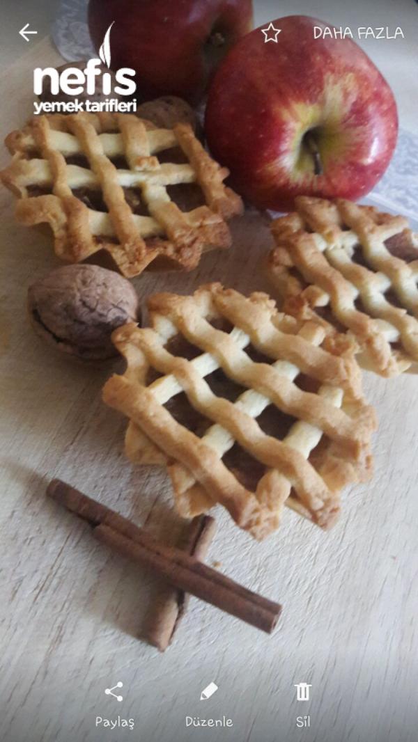 Kıyır Kıyır Nefisssss Porsiyonluk Elmalı Turta ( Elmalı Tart)