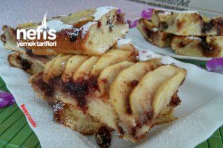2 Dakikada Elmalı Pasta (Harika Kek) Tarifi