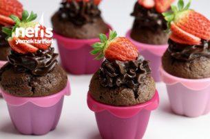 Çikolatalı Pamuk Cupcake (videolu) Tarifi