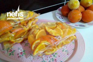Dondurulmuş Limon Ve Portakal Tarifi