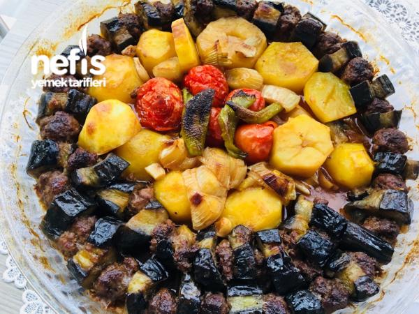 Patlıcan Kebap(patatesli)
