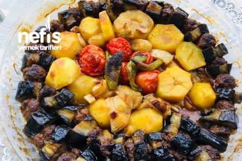 Patlıcan Kebap (Patatesli) Tarifi