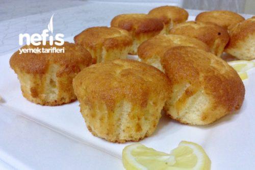 Puf Puf Limonlu Muffin (Mis Kokulu Muhteşem Lezzet) Tarifi
