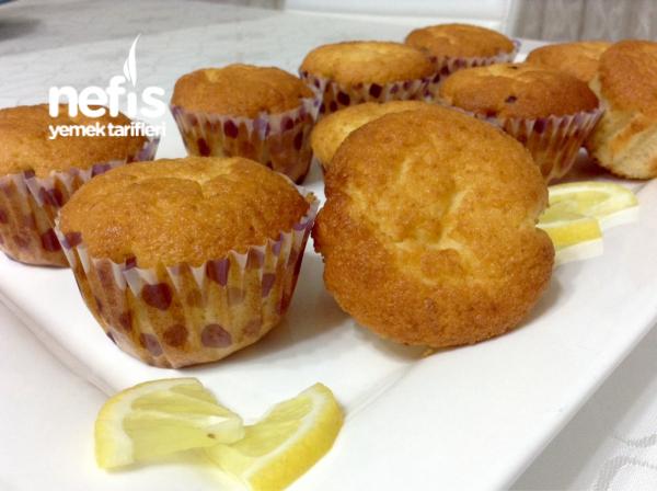 Puf Puf Limonlu Muffin ( Mis Kokulu Muhteşem Lezzet )