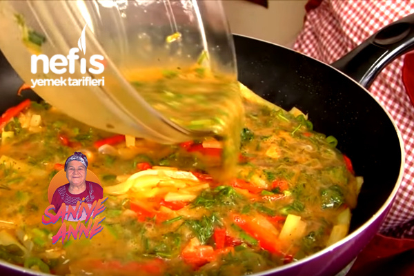 Sebzeli Omlet Tarifi (videolu)