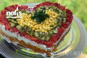 Nefis Etimek Salatası Tarifi