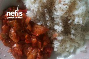 Patlıcan Yemeği (Közlenmiş Sevenlere) Tarifi