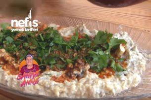 Tahinli Közlenmiş Patlıcan Mezesi Tarifi (videolu)