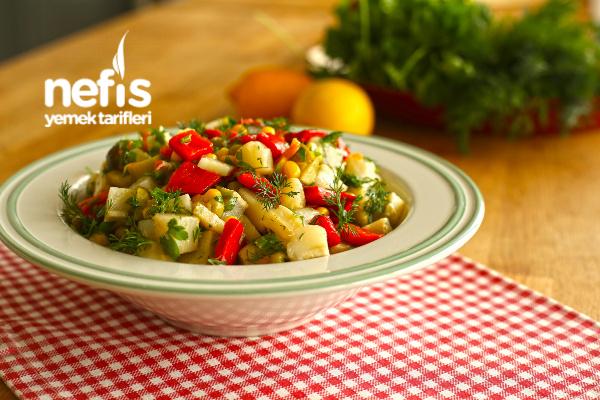 Enginar Salatası (videolu) Tarifi