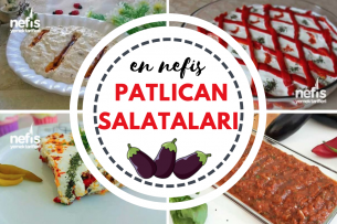 Patlıcanlı Salata ve Meze Tarifleri Tarifi