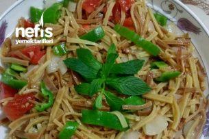 Sebzeli Şipşak Erişte Makarna Tarifi