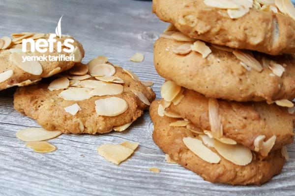 Yulaflı Bademli Muffin Tarifi