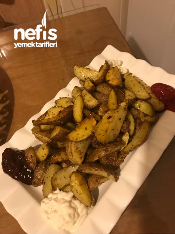 Galeta Unlu Elma Dilim Patates
