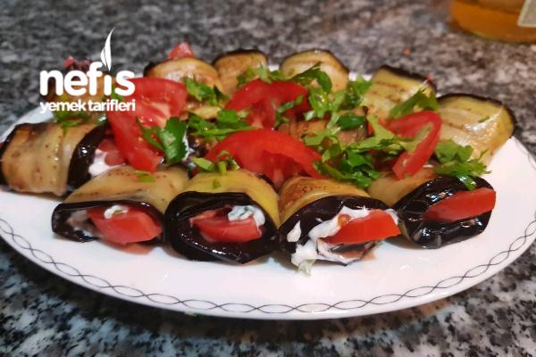 Hem Kolay Hem Sunumu Şık Patlıcan Salatası Tarifi